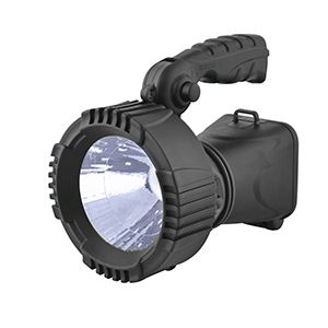 LINTERNA RECARGABLE SOLAR LED  140 LUMENES  220 VOLTIOS.